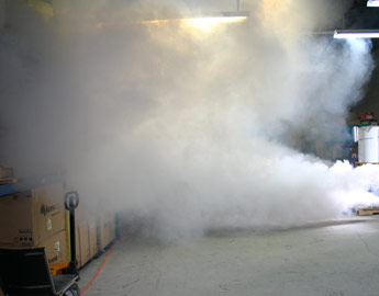 Commercial Burglary Prevention Flashfog Security Fog